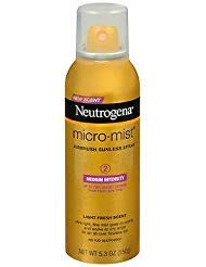Neutrogena Micro-Mist Airbrush Sunless Tan Spray Medium - 5.3 oz, Pack of 6