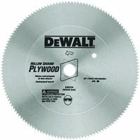 DEWALT DW3372 10-Inch 80 Tooth Hollow Ground Planer Steel Saw Blade with 5/8-Inch Arbor