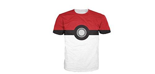 Pokemon Pokeball Men Medium Size -
