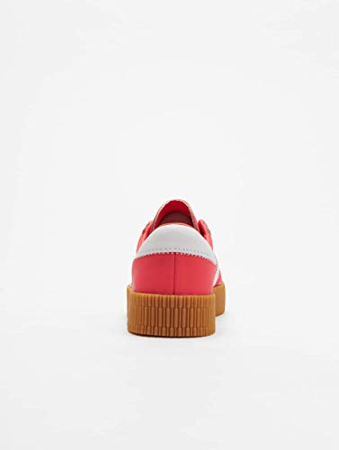 Shock W Red White Adidas Sambarose Calzado ftwr qUtaaA