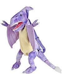 Plush Dinosaur Childrens Travel and Adventure Backpack Bag - Pteranodon ()