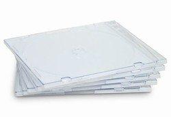 Super Slim Jewel Case - Clear - 200 pack (Super Jewel Case Slim)