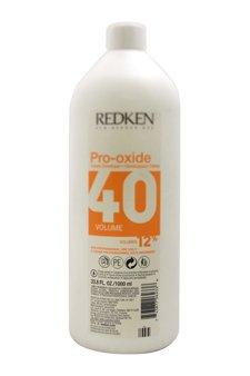 Redken Pro-Oxide 40 Volume 12% Cream Developer, 33.79 Ounce