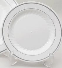 Masterpiece Silver Collection 10.25\u0026quot; Disposable Dinner Plates-60 Pack  sc 1 st  Amazon.com & Amazon.com: Masterpiece Silver Collection 10.25\