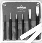 Mayhew Select 61025 Ec Punch and Chisel Kit, 8-Piece