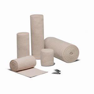 Hartmann 33600000 Econo-Wrap Reinforced Elastic Bandage, Latex-Free, Sterile, 6'' Width, 4-1/2 yd. Length (Pack of 60)