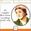 UPC 754238103322, Lotte Lehmann: The Complete RCA Victor Recordings (1947-49)