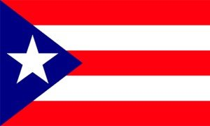 Puerto Rico Flag Nylon 3 ft. x 5 ft.