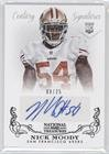 Nick Moody  9 25  Football Card  2013 Panini National Treasures    Base    Century Black Signatures  Autographed   317