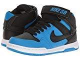 Nike Kids Mogan MID 2 JR B Black White Size 2.5