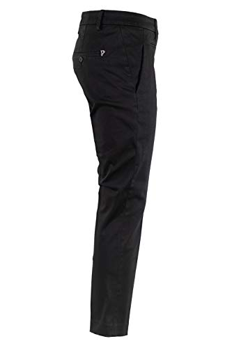 Algodon Mujer Dp066rs0004ptdpdd999 Jeans Dondup Negro dPYtwOWqtx