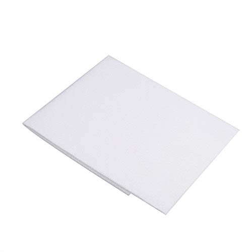 Aumo-mate 1pc Microfibre Polishing Cloths Car Drying Towels Cleaning Cloths Auto Detailing Towels Houseware Kitchen Dish Bath TV Glass Mirrors White 11x7.2 Inch