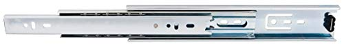 (Hardware Resources 303-50-20 303 Series 20 Inch Full Extension Side Mount Ball Bearing Drawer Slide with 100 Lbs. Weight Capacity - Pair)