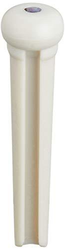 Graph Tech Tusq Ivory Acoustic Guitar Bridge Pins White Paua Dot (Best Bridge Pins For Martin)