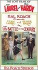 Laurel & Hardy: Battle of Century [VHS]