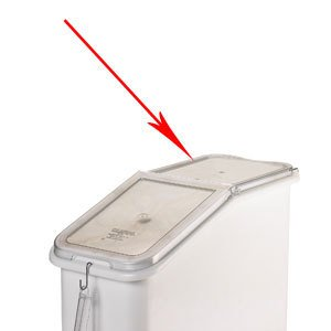 Cambro Replacement Back Section for IBS20/ IBSF27 Ingredient Bin Lids ()