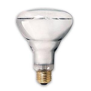 PET LIGHT BULB 150 WATT BR30 CLEARBRIGHT BASKING HEAT UVA BULB SUPRA LIFE PET LAMP ()
