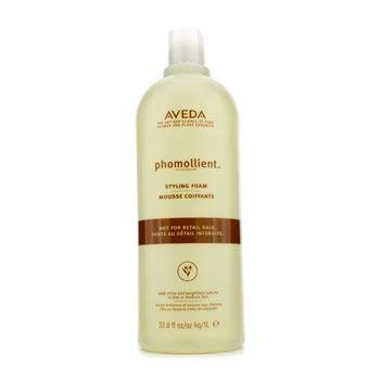 Aveda Phomollient Styling Foam (For Fine to Medium Hair) (Salon Product) - 1000ml/33.8oz by AVEDA