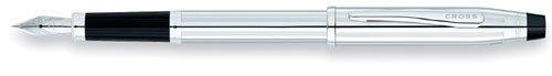 Cross Pluma estilográfica bolígrafo Utra Suave Brillante de Cromo con plumín de Brillante oro –  3509 09a9cf