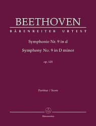 Symphony No. 9 in D Minor: Baerenreiter Full Score