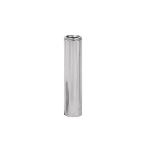 SuperPro SPR6L24P 6'' Inside Diameter 24'' Long Stainless Steel Class A Double Wal, Stainless Steel