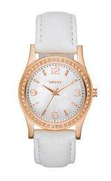 Dkny Mother Of Pearl Dial Watch - DKNY Glitz Mother-of-Pearl Dial Women's Watch #NY8375