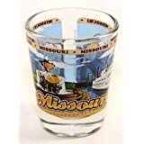Missouri State Wraparound Shot Glass World By Shotglass mowrap