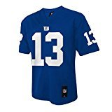 Outerstuff Odell Beckham Jr York Giants #13 NFL Youth Mid-Tier Team Color Jersey Blue (Youth Large 14/16)
