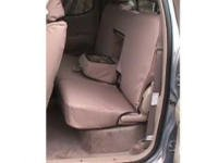 Cab Rear Seat - Durafit Seat Covers, 2000-2004-Toyota Tundra Access Cab Back Seat Set. Rear 60/40 with Integrated Armrest. Seat Covers in Taupe Twill.