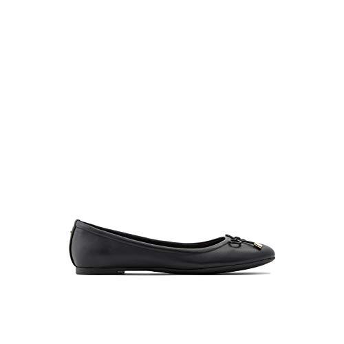 ALDO Women's Unelamma Ballet Flat Shoe, Black, 9 B US (Aldo Ballet Flats Women)