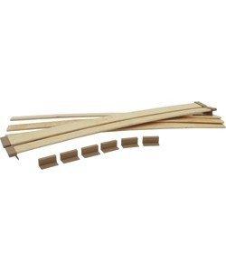 Brunner Confezione di doghe di ricambio regolabili in legno ...