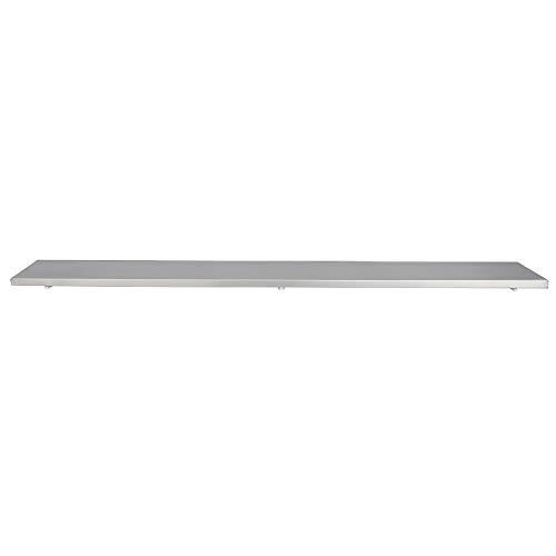 "Concession Shelf Aluminum Drop Down Folding Serving Food Shelf (96"" Shelf)"