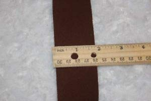 2 Yards 1 Brown Faux Suede Belt Sewing Trim 1.75
