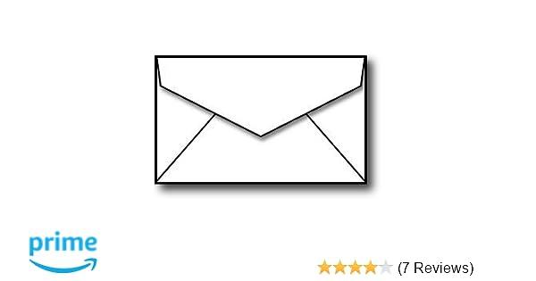 Amazon Business Card Size Envelopes 2 18 X 3 58 White