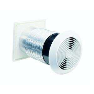 Aluminum Wall Cap (Broan 512M Through-Wall Fan, 6-Inch 70 CFM 3.5 Sones)