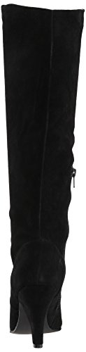 Steve Madden Steven by Women's Vergil Fashion Boot Black Suede cheapest price sale online b1RzaXNjBW