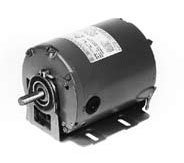 Marathon B400 48Y Frame Totally Enclosed 48S17D997 Attic Fan Motor, 1/3 hp, 1800 rpm, 115 VAC, 1 Split Phase, 1 Speed, Ball Bearing, Resilient Base