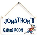 carrotdnrl Gaming Room Boy's Game Room Personalised Sign– Jonathon's Gaming Room Wooden Sign Gift