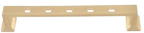 アトラスホームウェア6-inch CraftsmanコーナーモダンCraftsman Pull 215-B 1 B0014B7SX6 サテン真鍮 サテン真鍮