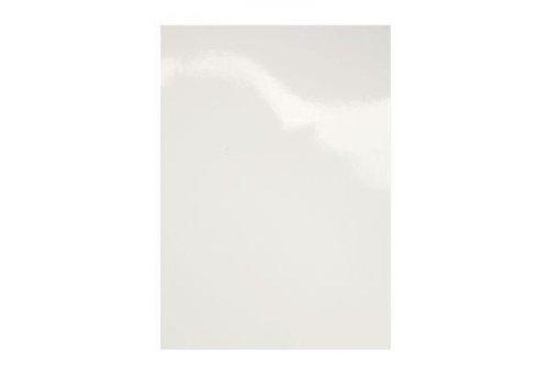 GBC CE019000 Einbanddeckel, DIN A3, 250 g/qm, weiß, glänzend weiß glänzend