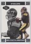 (Ben Roethlisberger (Football Card) 2007 Topps Co-Signers - [Base] #10)