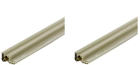 M-D Building Products 1610 Steel Door Magnetic Weatherstrip, 36-by-81 Inches, Beige (2-(Pack))