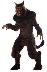 [Morris mens Deluxe Werewolf Costume Standard] (Wolf Costume Halloween Express)