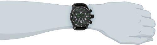 Swiss Legend Men's 22828-BB-01-GA SL Pilot Chronograph Black Dial Black Leather Watch