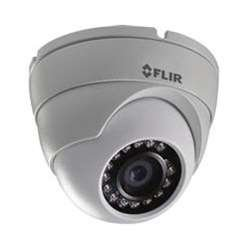 FLIR 2.1MP HD Fixed Dome MPX Camera with 3.6mm F2.0 Lens ()