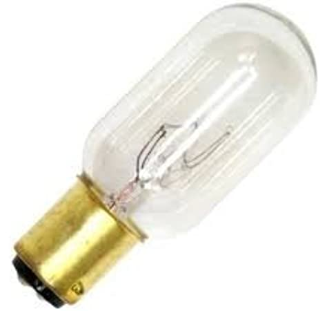 25t8dc 120v Incandescent Bulbs 120 Volts 25 Watts T8 Double Contact Bayonet Base 1 Piece Amazon Com