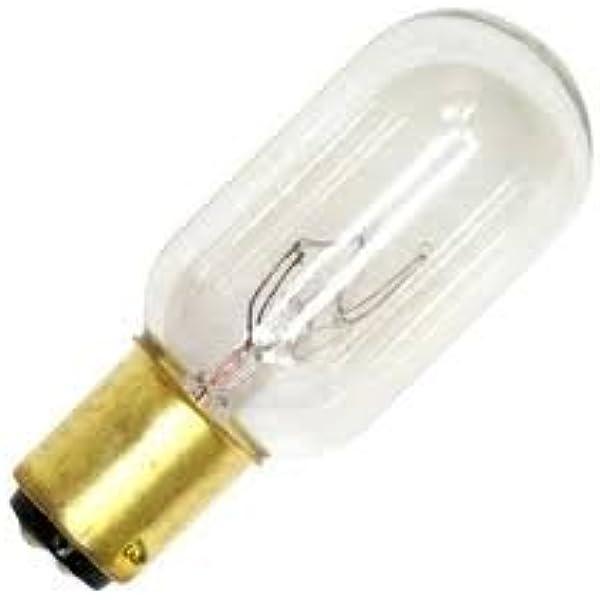 Sylvania 25W 18106 25T6.5//DC 130V Double//Dual//2 Contact Bayonet Base Light Bulb