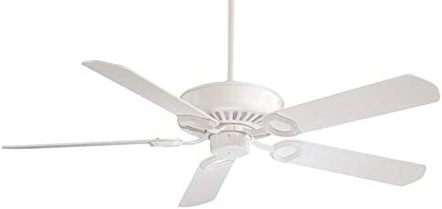 Minka-Aire F588-SP-WH Ultra-Max 54 Inch Ceiling Fan