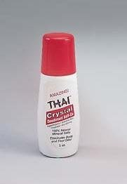 Thai Deodorant Stone Crystal Deodorant Mist Roll-On, 3 Ounce
