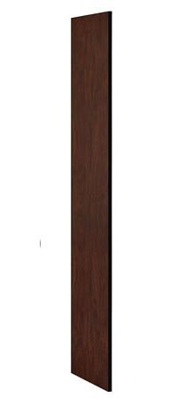 Side Panel Access (Salsbury Industries 30033MAH 18-Inch Deep Side Panel for Open Access Designer Locker and Designer Gear Locker without Sloping Hood, Mahogany Brown)
